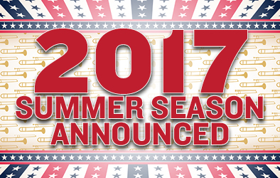 2017 Summer Season Announced CB