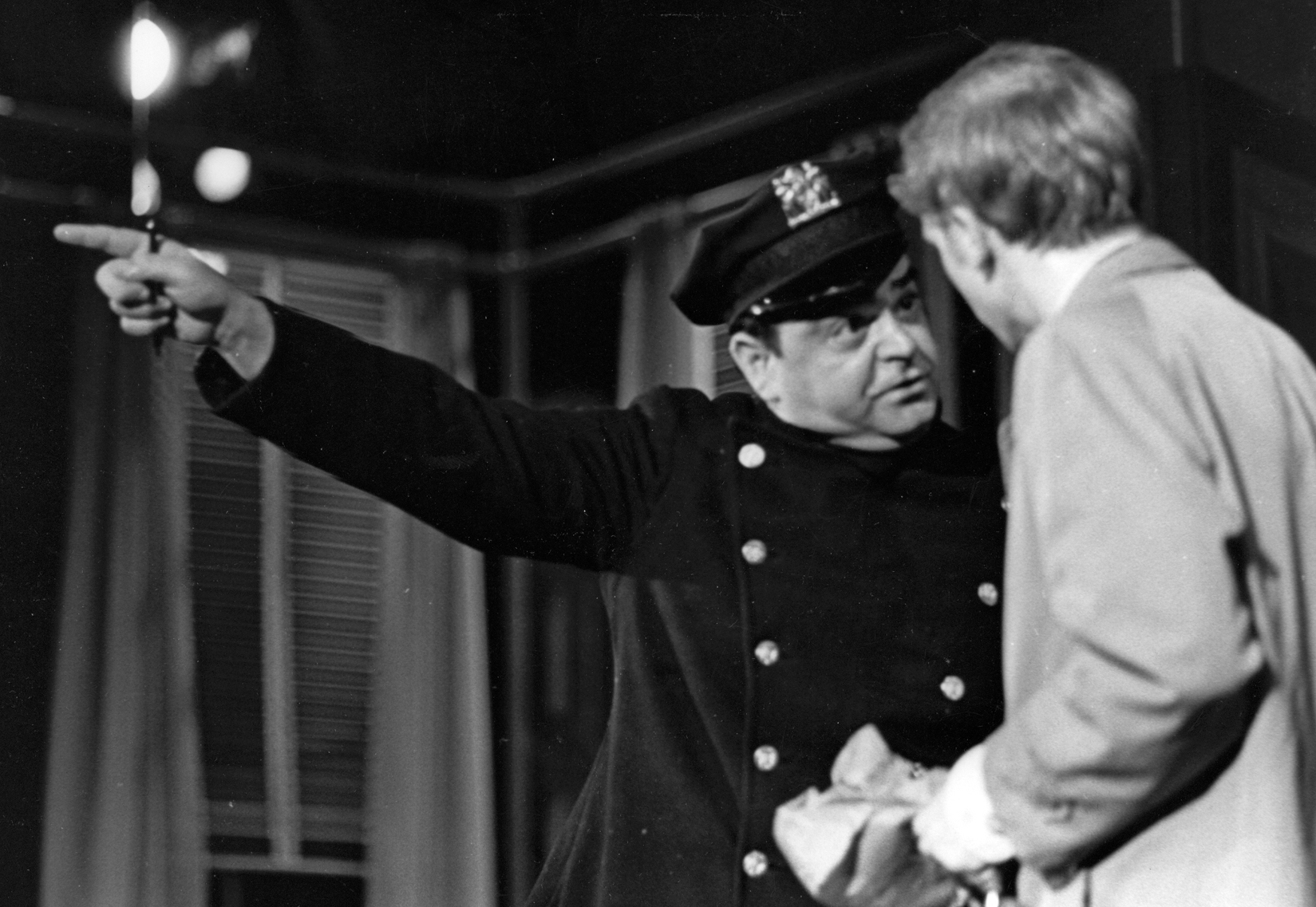 Scene from Berkshire Theatre Festival's 1968 production of Terrence McNally's Next.