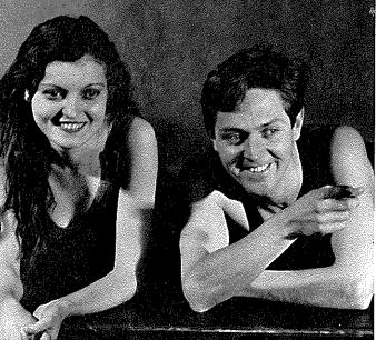 Alexander Kirkland and Zita Johann in The Lake, 1930, Berkshire Playhouse.