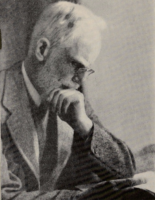 George Bernard Shaw, photograph from the 1930 Berkshire Playhouse program for The Doctor's Dilemma.
