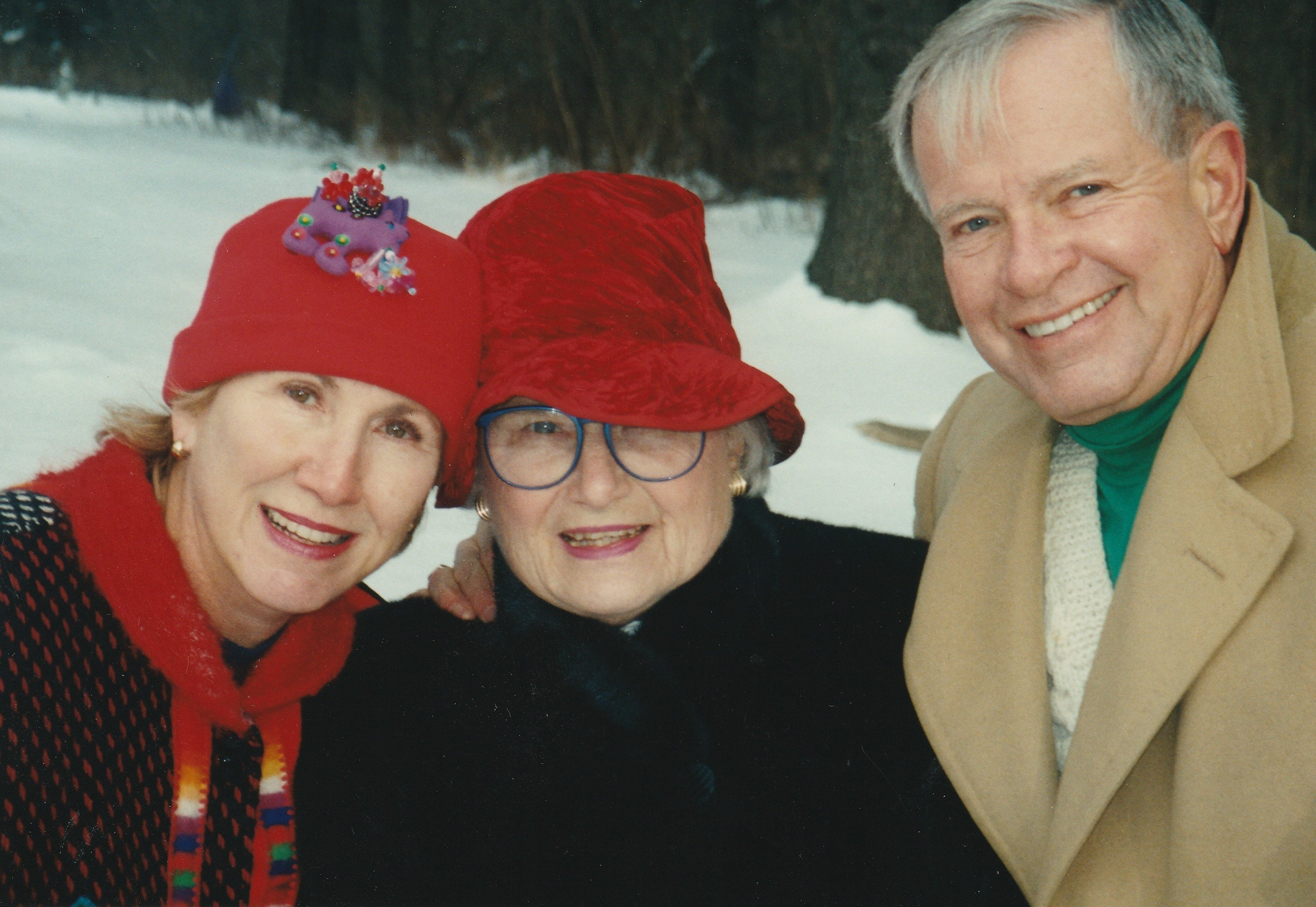 Bobbie Hallig, Jane Fitzpatrick, and Larry Vaber