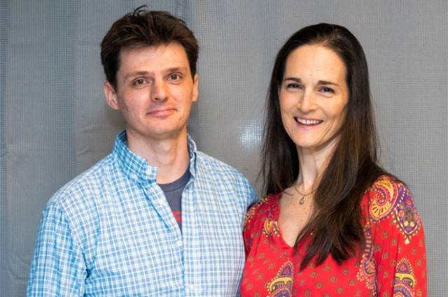 Charlotte Cohn and Jason O'Dell