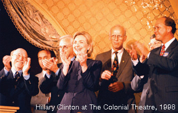 17.-Hilary-Clinton-at-The-Colonial-Theatre-1998