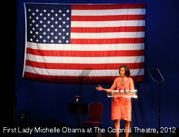 20.-First-Lady-Michelle-Obama-at-The-Colonial-Theatre-2012