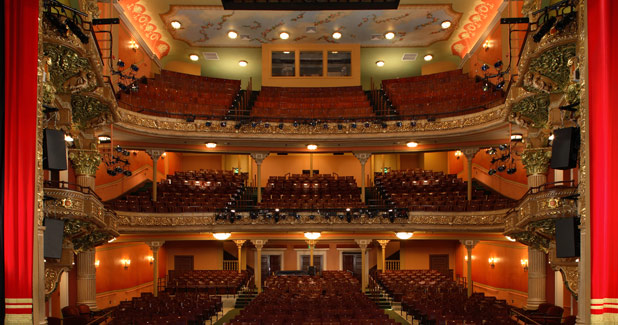 boston opera house balcony Tours Berkshire Theatre Group