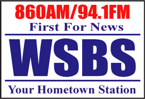 860AM/94.1FM First For News WSBS Your Hometown Station