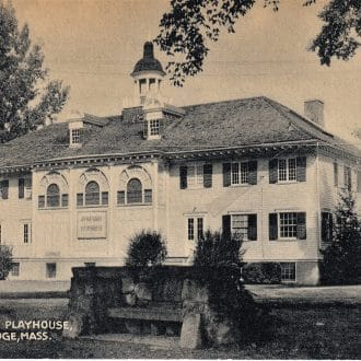 Front view of the Berkshire Playhouse during the daytime.