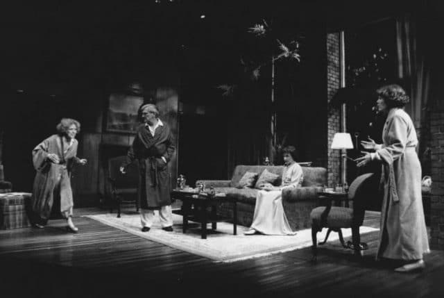 Production photograph of BTG's 1986 production of A Delicate Balance.