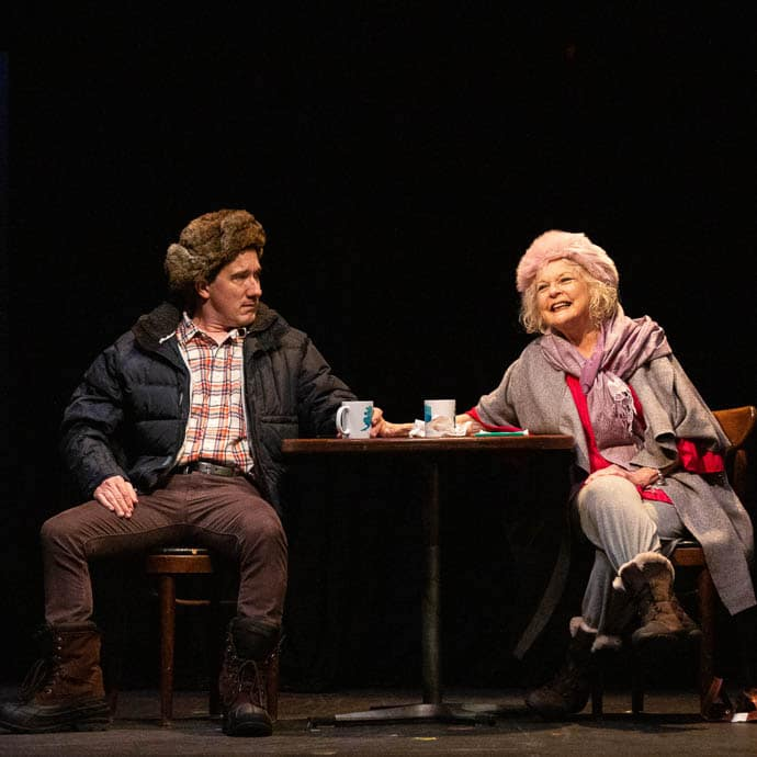 """""""perfectly lovely, charming afternoon or evening of theatre"""" –BroadwayWorld"""
