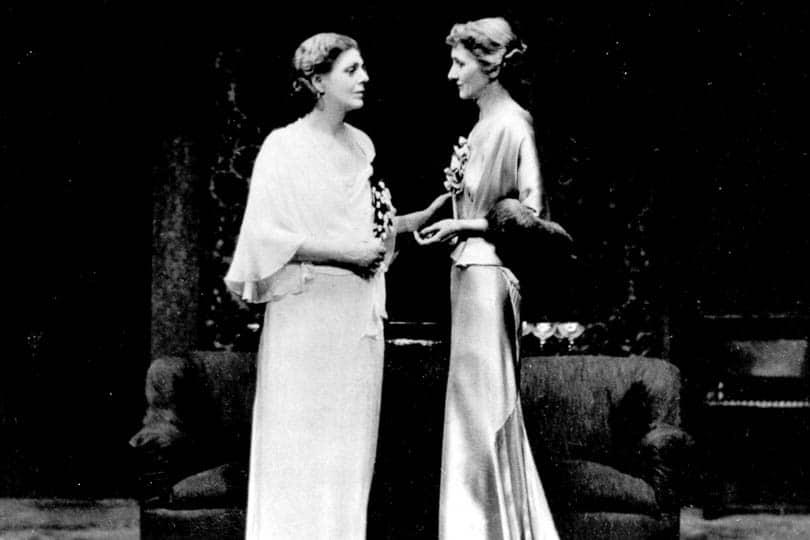 Ethel Barrymore in <i>Declasse</i>, 1935.
