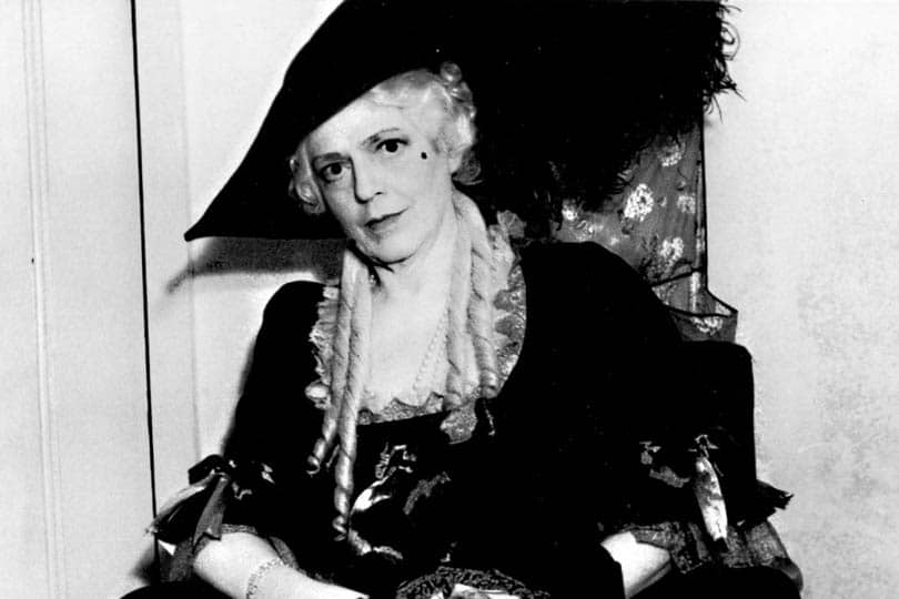 Ethel Barrymore in <i>The School for Scandal</i>, 1940.