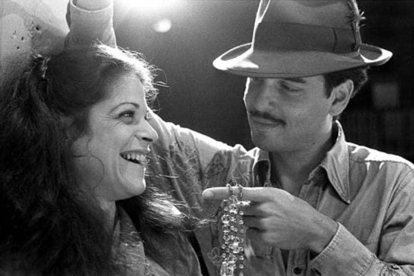 Gilda Radner and Chris Sarandon in <i>Broadway</i>, 1977.