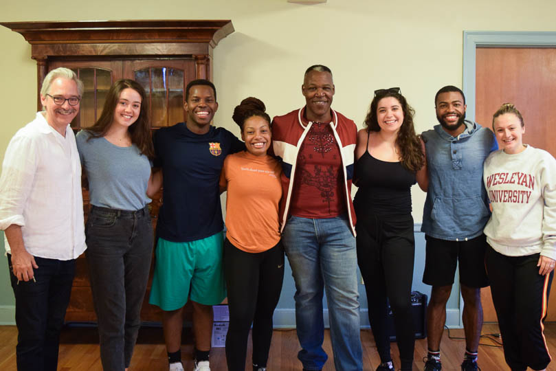Acting Internship Masterclass with Danny Johnson, 2019.