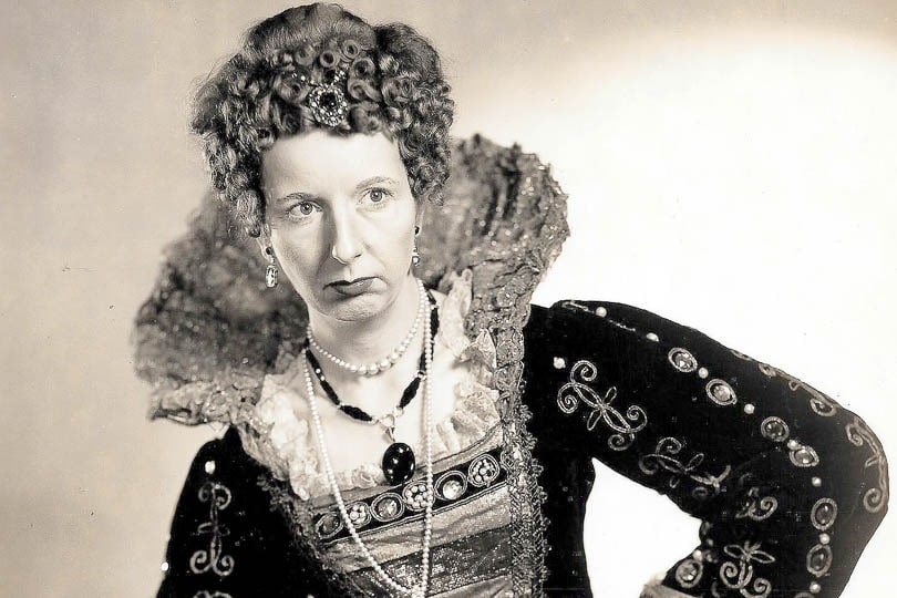 Mary Wickes in <i>Elizabeth the Queen</i>, 1946.