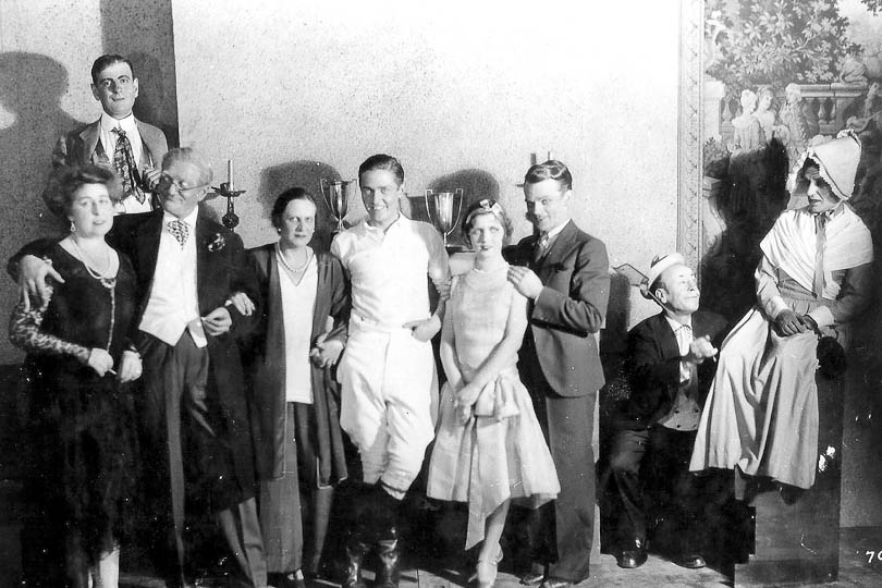 James Cagney and cast of <i>Oh Boy</i>, 1929.