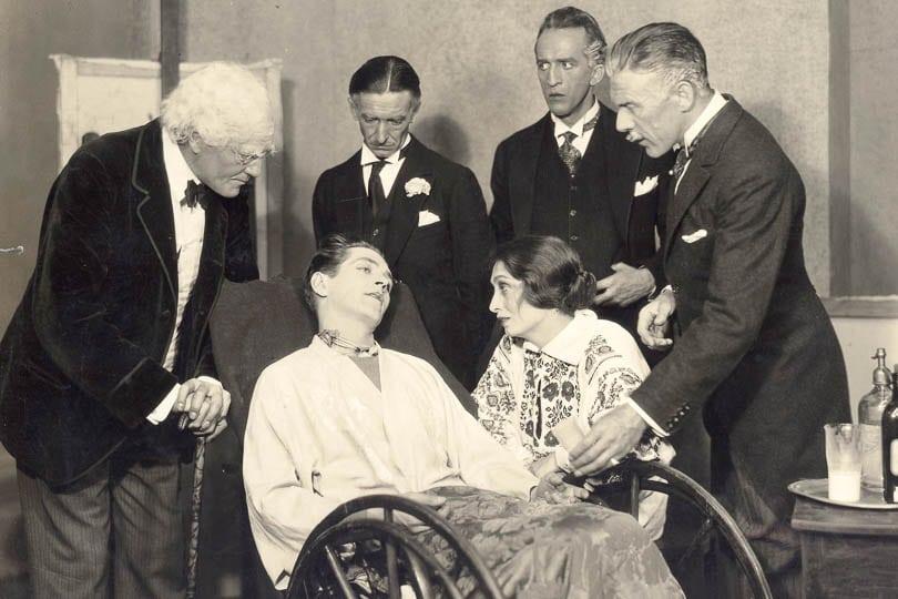 <i>The Doctor's Dilemma</i>, 1930. Photo by George W. Henzel.